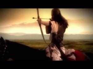Воин с луком