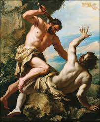 Каин убиивает Авеля