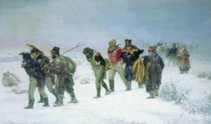 Отступление войск Наполеона