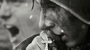 Солдат с крестиком