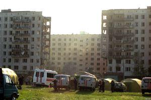 Взрыв жилого дома
