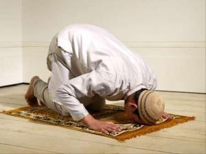 Молитва мусульманина