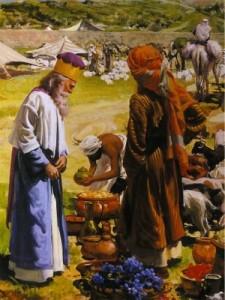 Авраам и Мелхиседек