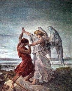 Иаков борется с Богом