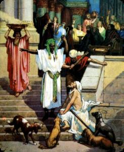 Лазарь у ворот богача