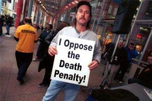 Протест против смертной казни